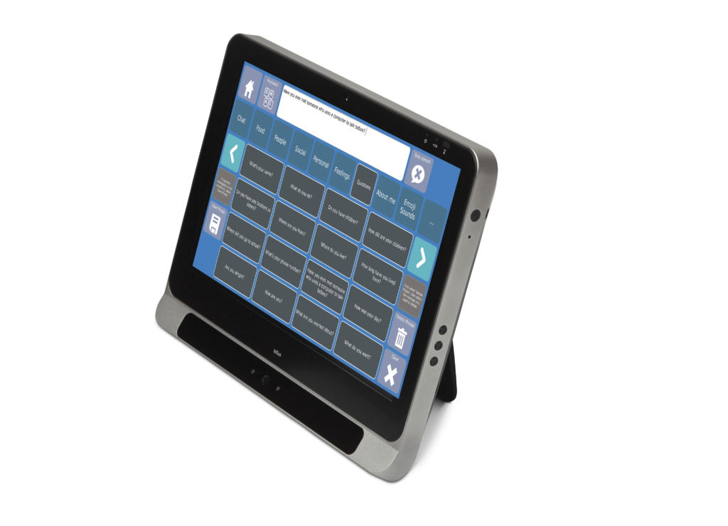 Tellus i5 with Amego sentence predictor.