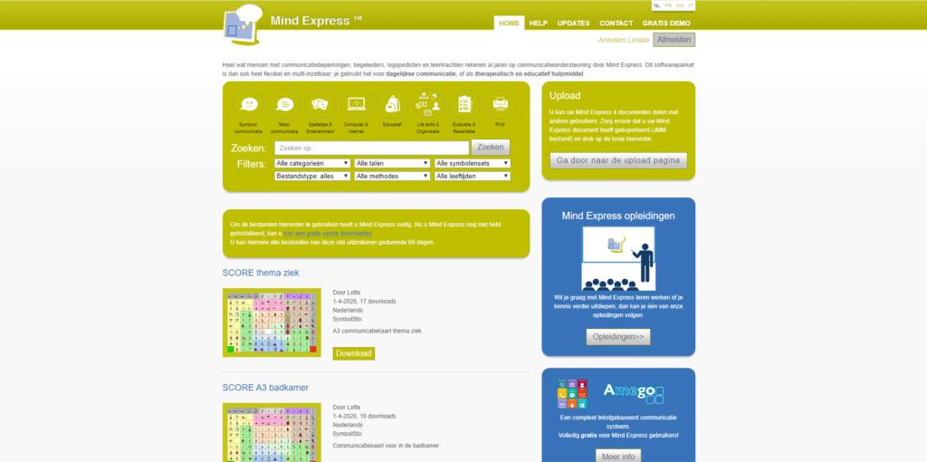 Mind Express website
